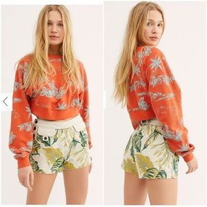 Free People Palm Springs Shorts